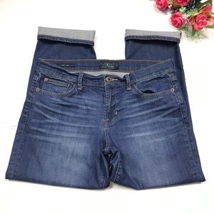 Lucky Brand Sweet Crop Mid Wash Jeans Size 12